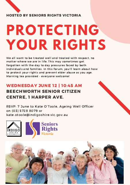 Protecting Your Rights - a free forum held in Beechworth